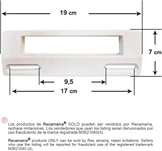 Tirador puerta Frigorifico BLANCO Distancia entre agujeros m