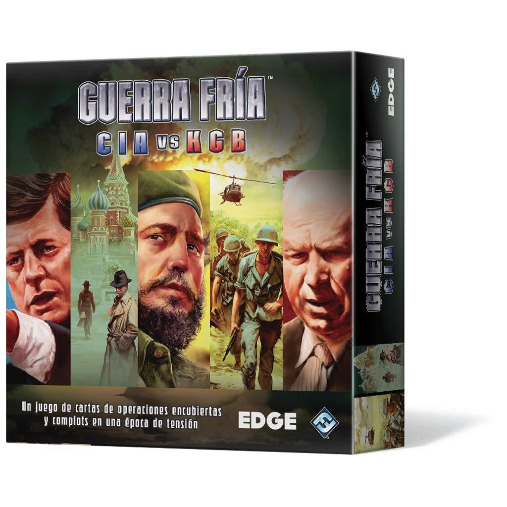 Edge Entertainment - Guerra Fría, Juego de Mesa (EDGCW01): Amazon.es: Juguetes y juegos
