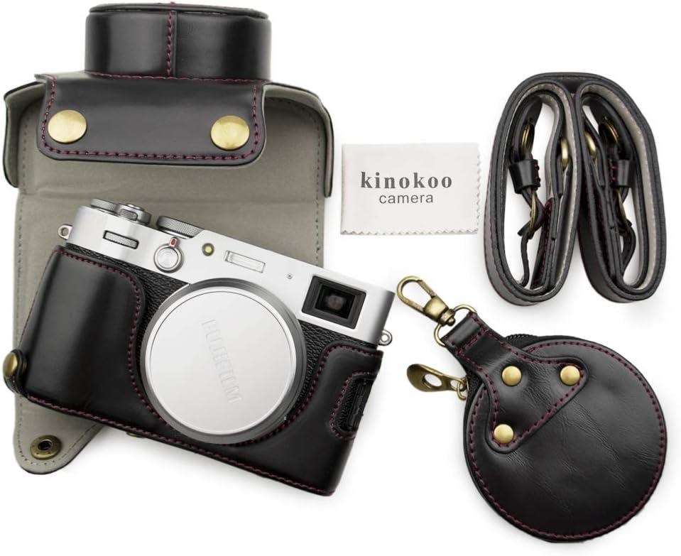 MUZIRI KINOKOO PU Leather Case for Stra Shoulder X100V Mail order with Max 69% OFF Fuji