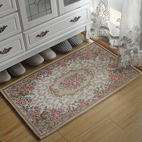 JYXJJKK Rug Living Room Home Doormat Bedroom Entrance Water Absorption Mat Rug Cover (Colour: I, Size: 90 x 140 cm)