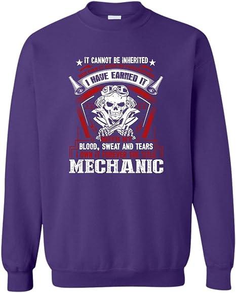 World/'s Okayest Mechanic Mens Unisex Sweatshirt