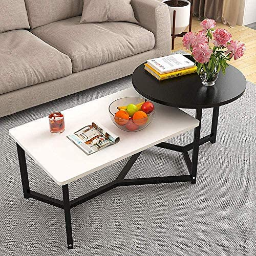 Best nozama Modern Coffee Table Mid Century Wooden Coffee Tables Sofa Side Nesting Tables Stacking Side o