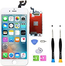 Premium Screen Replacement Compatible with iPhone 6S Plus Full Assembly -LCD Touch Digitizer Display Glass Assembly with T...