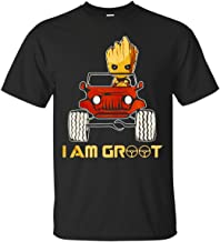 I Am Groot with Jeep T-Shirt