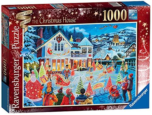 Ravensburger Christmas House 2021 - Puzzle da 1000 pezzi, edizione speciale, per adulti e bambini, 12 anni