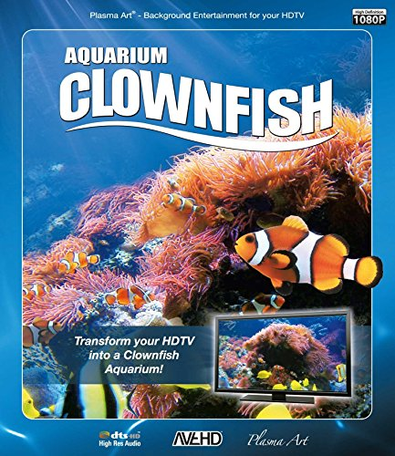 Plasma Art - Aquarium - Clownfish [Blu-ray] [UK Import]
