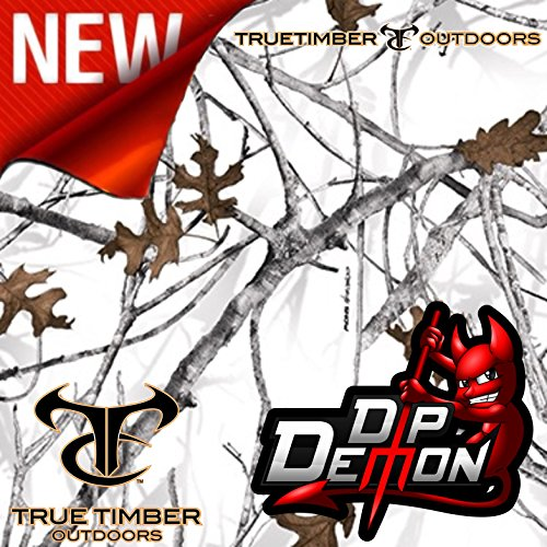 Hydrographic Film True Timber Conceal Snow Winter Camo Camouflage Winter Hydrographic Water Transfer Film Hydro Dipping Dip Demon