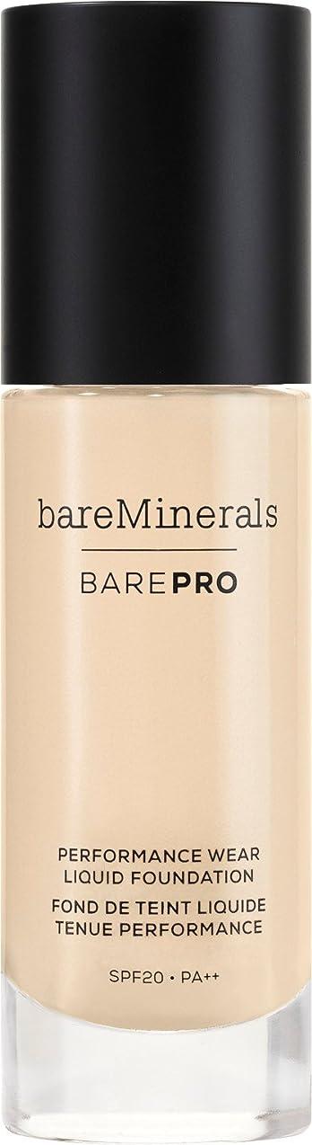 浸漬縁石マンモスベアミネラル BarePro Performance Wear Liquid Foundation SPF20 - # 01 Fair 30ml/1oz並行輸入品
