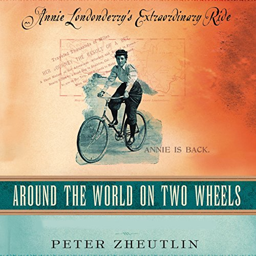Around the World on Two Wheels audiobook cover art