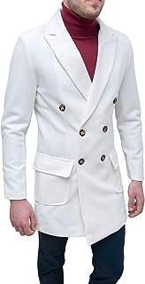 Evoga Cappotto Soprabito Uomo Class Invernale Giacca Casual Elegante