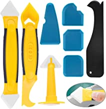 Siliconen verwijdering schraper Caulk Tool Kit BETOY 8 Stks Sealant Tool Kit Handig en praktisch met siliconen spatels, Ca...