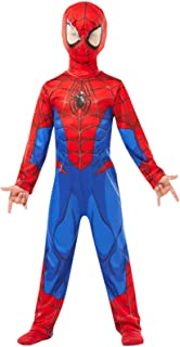 RUBIE'S Marvel Spider-Man Classic Child Costume, Blue-Red,L (7 - 8 years / 128 cms)