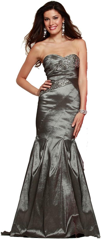 Clarisse Strapless Elegant Mermaid Gown 2141