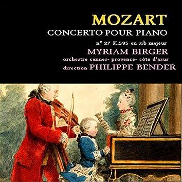 Mozart: Concerto pour piano et orchestre No. 27, K. 595