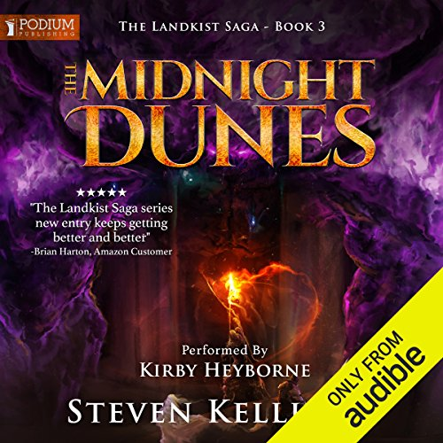 The Midnight Dunes audiobook cover art