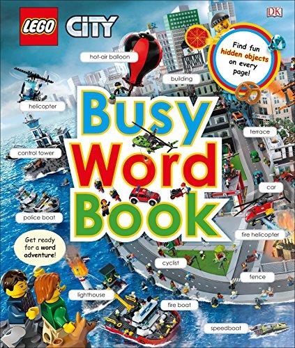 lego city word LEGO CITY: Busy Word Book