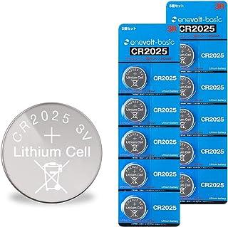 enevolt(basic) CR2025 H コイン電池 150mAh 3V リチウムコイン電池 3R SYSTEMS 10個セット