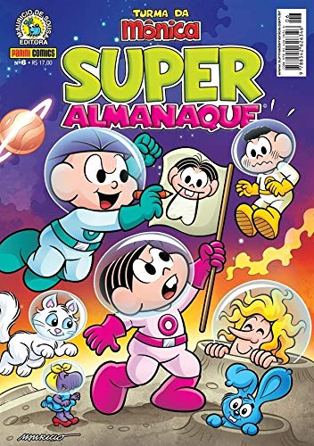 Super Almanaque Turma da Mônica Edição 06: Edição 6