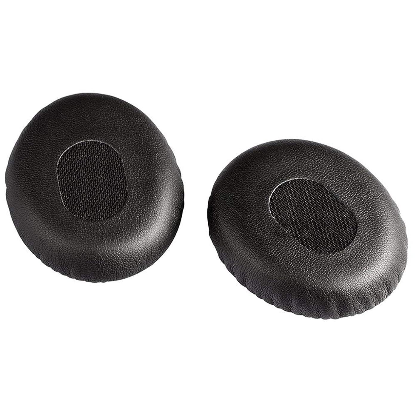 Earpads Ear Cushions for Bose On-Ear OE/ OE1 QC3 Headphone - Replacement Memory Foam Ear Cushion Pads Earpads Ear Cups for Bose QuietComfort3 (1Pair Black)