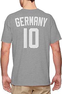 Germany Fussball Jersey - German National Soccer Men`s T-Shirt