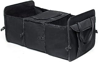Mizuho Collapsible Car Trunk Boot Organizer Box Foldable Storage Holder Bag Travel Tidy Box Cargo Storage Stowing Tidying ...