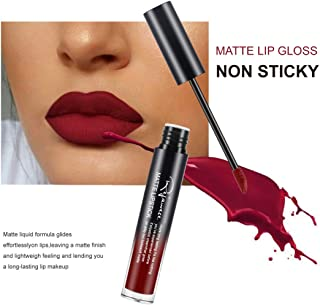 Lip Gloss by Rejawece - Waterproof Long Lasting Matte Lip Gloss Liquid Lipstick Beauty Makeup Cosmetics Lip Stick (Color 21#)