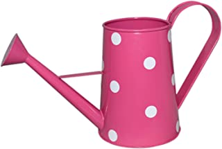Bukhari Enterprises can Dotted Planter Watering can 1.4 litres (Pink)