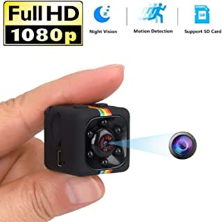 كاميرا التجسس السرية الصغيرة ALILJJ 1080P كاميرا تجسس مع رؤية ليلية بالأشعة تحت الحمراء وكشف الحركة، كاميرا مراقبة صغيرة ل...