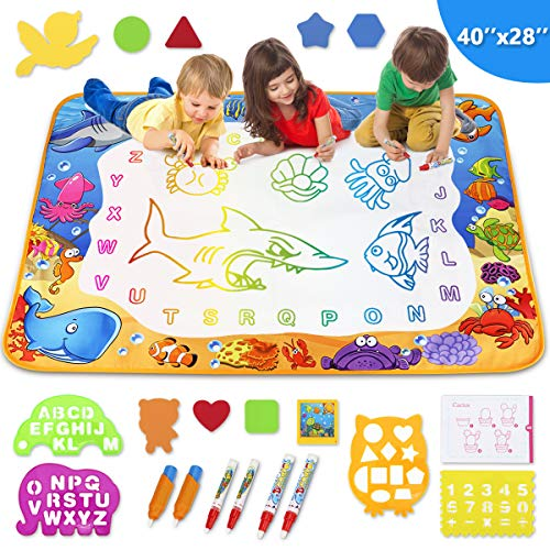 Toyk Aqua Magic Mat - Kids Painting Writing Doodle Board Toy -...