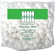 Perfect Stix Cotton Balls M Cotton Balls, Pack of 500ct, Plain