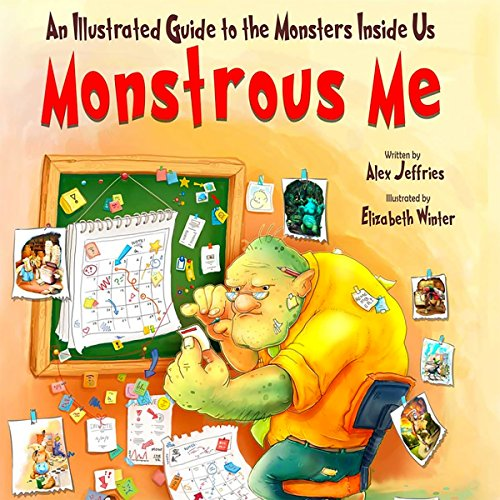 Monstrous Me audiobook cover art