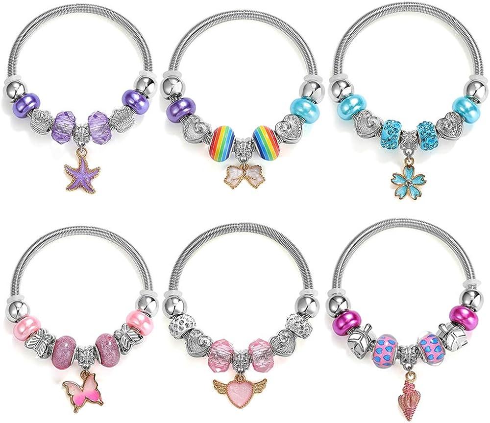 PinkSheep Bracelets for Excellence Kids 6PC Little Friendship Washington Mall Bracel Girl
