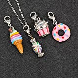 Equilibrium Silver plated Girls gioielli fascino collana–Sweeties 279288