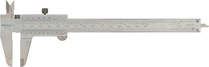 Mitutoyo 530-312 Vernier Calipers, Stainless Steel, for Inside, Outside, Depth and Step Measurements, Metric, 0