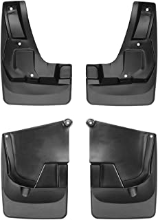 WeatherTech Custom MudFlaps for Toyota RAV4 - Front & Rear Set Black (110057-120057)