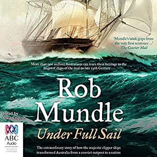 Under Full Sail                   By:                                                                                                                                 Rob Mundle                               Narrated by:                                                                                                                                 Paul English                      Length: 9 hrs and 53 mins     7 ratings     Overall 4.3