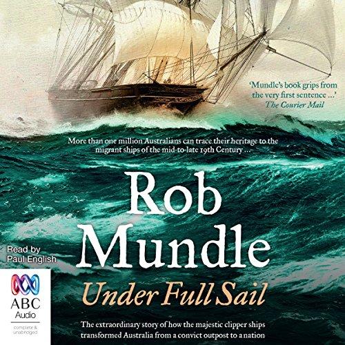 Under Full Sail audiobook cover art