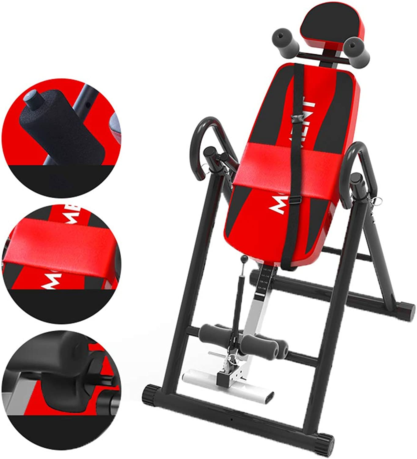 Inversion Table Suspension Trainer Inversion Airbag Waist Pad Upgrade Brake HomeAssisted Yoga intergreenebral disc Length Increases Physical Fitness Equipment