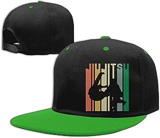 Adgjhbvn Unisex Kids Infant Baseball Cap Jiu Jitsu Silhouette Cotton Trucker Hat Gorras de Hip Hop de béisbol