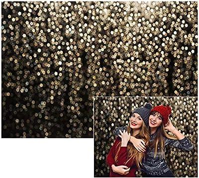 Allenjoy Gold Bokeh Spots Backdrop