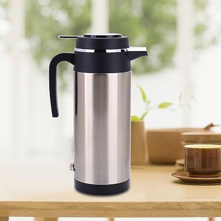 1200ml Auto Wasserkocher Edelstahl 24v Zigarettenanzünder Reisewasserkocher Für Wasser Kaffee Getränke Heizung Auto