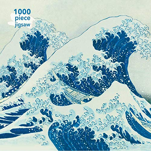 Adult Jigsaw Puzzle Hokusai: The Great Wave: 1000-piece Jigsaw Puzzles