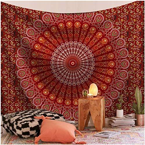 Tapiz psicodélico para colgar en la pared, Mandala, toalla de playa de arena, alfombra, manta bohemia, almohadilla para dormir, tapices, decoración del hogar