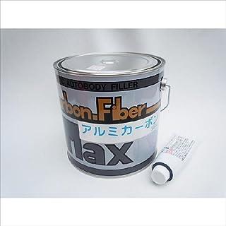 中部化研工業 Maxアルミカーボンファイバーパテ(マックスアルミカーボンファイバーパテ) 硬化剤付