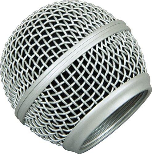 Jinoh Microfoon Ball Head Mesh Grill voor Shure SM58 BETA58 SM58LC SA-M30 SV100 UT2 PGX24 vervangend scherm KTV Handheld