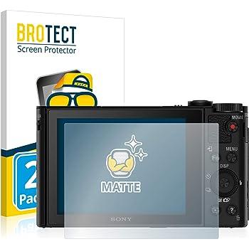 6x Protector Pantalla Sony Cyber-Shot DSC-HX90V Pelicula Protectora Transparente