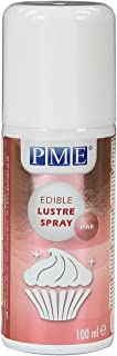 PME Edible Lustre Spray, Pink, 3.3 Ounce