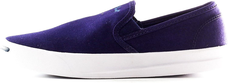 Converse Men Jack Purcell Jeffrey Slip Dozar blueewhite 5.5 Sneakers