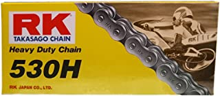RK Racing Chain M530HD-102 (530 Series) 102-Links Standard Non O-Ring Chain with Connecting Link