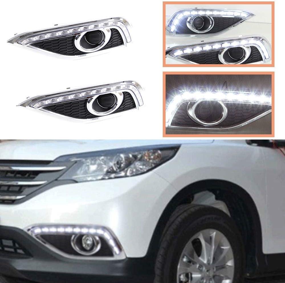 Alternative Bombing free shipping dealer LED Daytime Running Light DRL Honda CR-V Front for 2012-2014